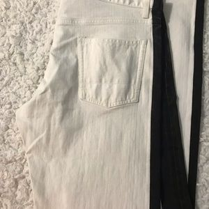 Alexander McQueen Jeans - *NWT* Authentic White and Black Striped McQueen